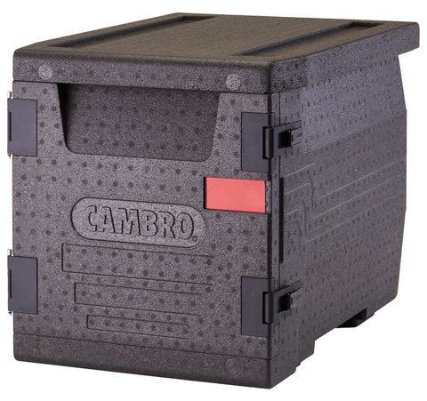 Cambro Thermal Insulated Box Front Loader 46 litre Insulated 4 hour Carrier Box 64x44x47cm for GN1/1 Pans EPP300110