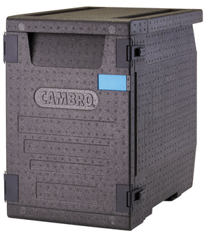 Cambro Front Loader 53 litre Insulated 4 hour Carrier Box 64x44x62cm for GN1/1 Pans EPP400