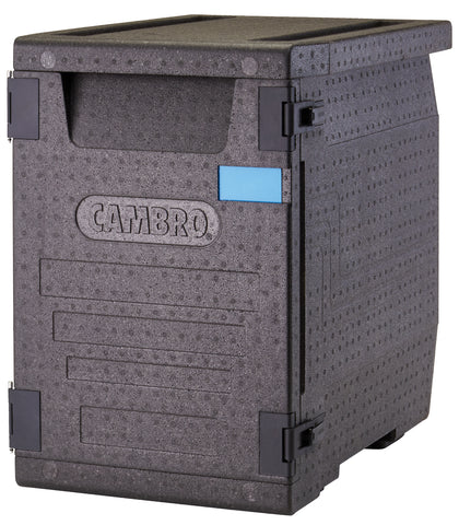 Cambro Front Loader 53 litre Insulated 4 hour Carrier Box 64x44x62cm for GN1/1 Pans EPP400110