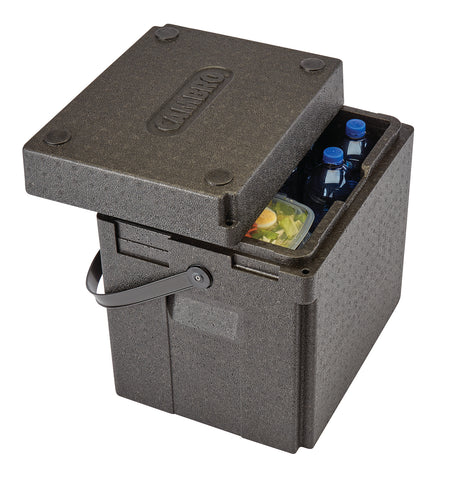 Cambro GoBox Thermal Insulated Drinks Delivery and Beverage Carrier Boxes EPPBEVBKST