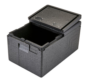 Cambro GoBox EPP180FL 46 litre Flip Lid Thermal Insulated Catering Box & Delivery Carrier GN1/1 pans