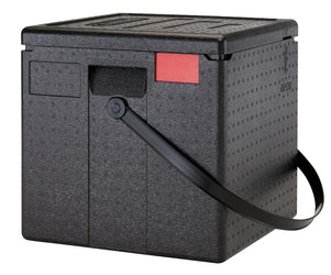 Cambro Vented Insulated Delivery Box-Extra Large with handle, Thermal Catering Carrier Boxes EPPZ35330BST