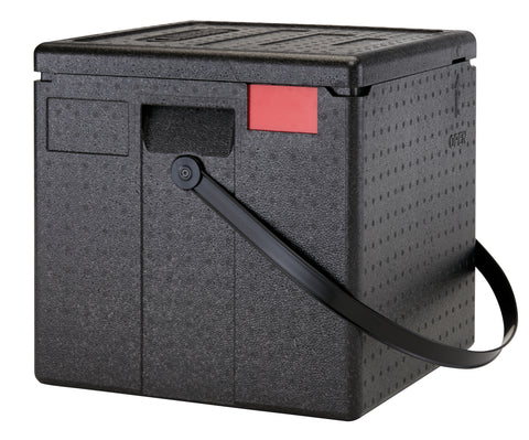 Cambro Vented Insulated Delivery Box - Large with handle Thermal Catering Carrier Boxes EPPZ35265RST