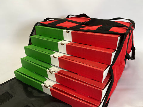"*T12R Pizza Delivery Bag - 15"" Pizzas Envelope Bags Red"