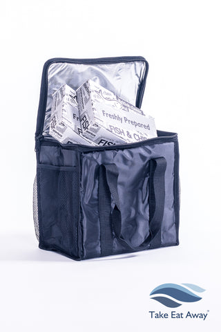 *T31 Food Delivery Bag with Mesh Pockets for Hot or Cold Deliveries -19 litres