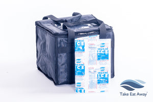 *T16H Food Delivery Bags with re-useable heat pad-25 litres