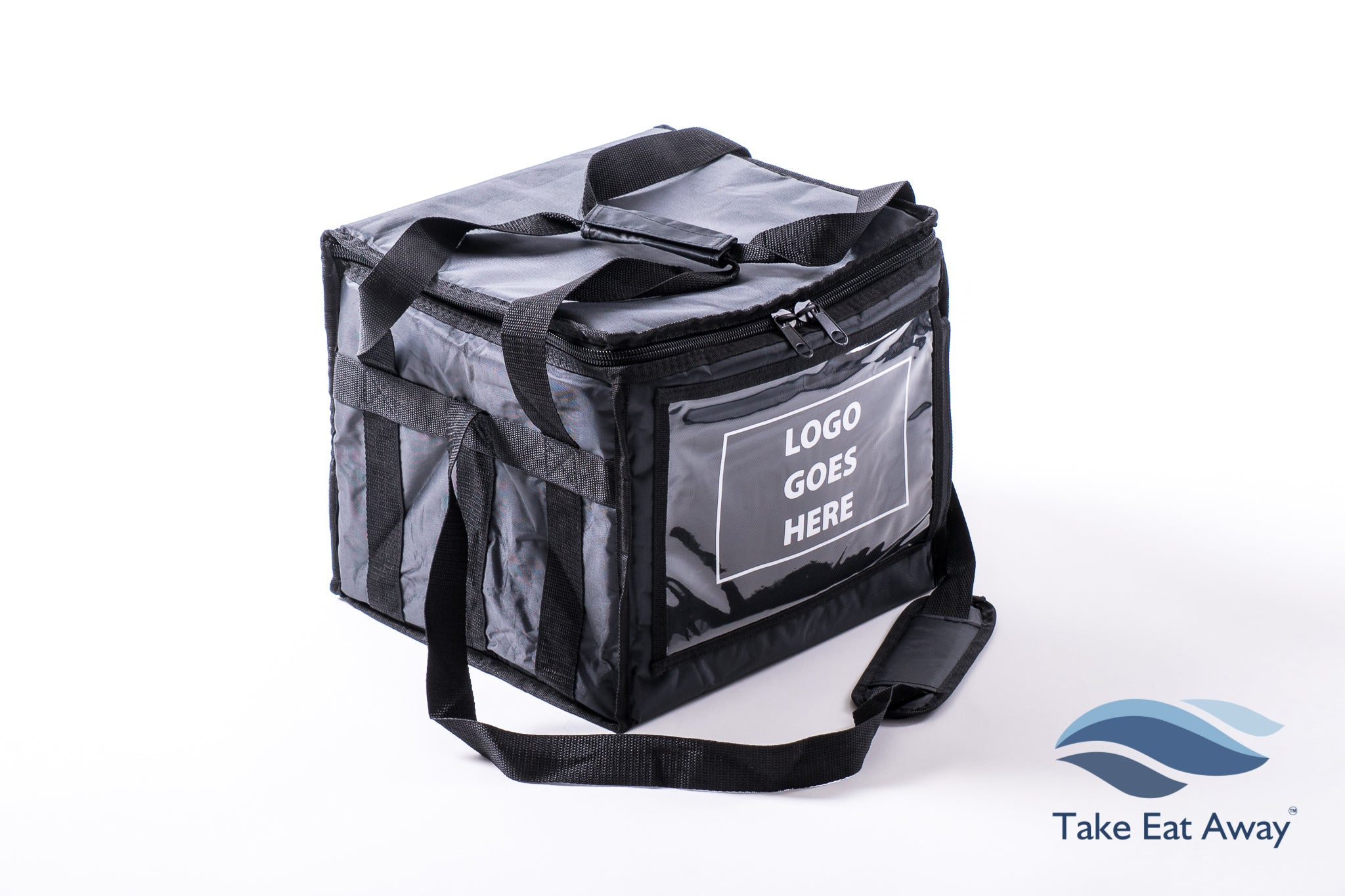 *T161D Food & Drink Delivery Bag to Customise add Branding Deliveries Bags with 6 Cup Holder