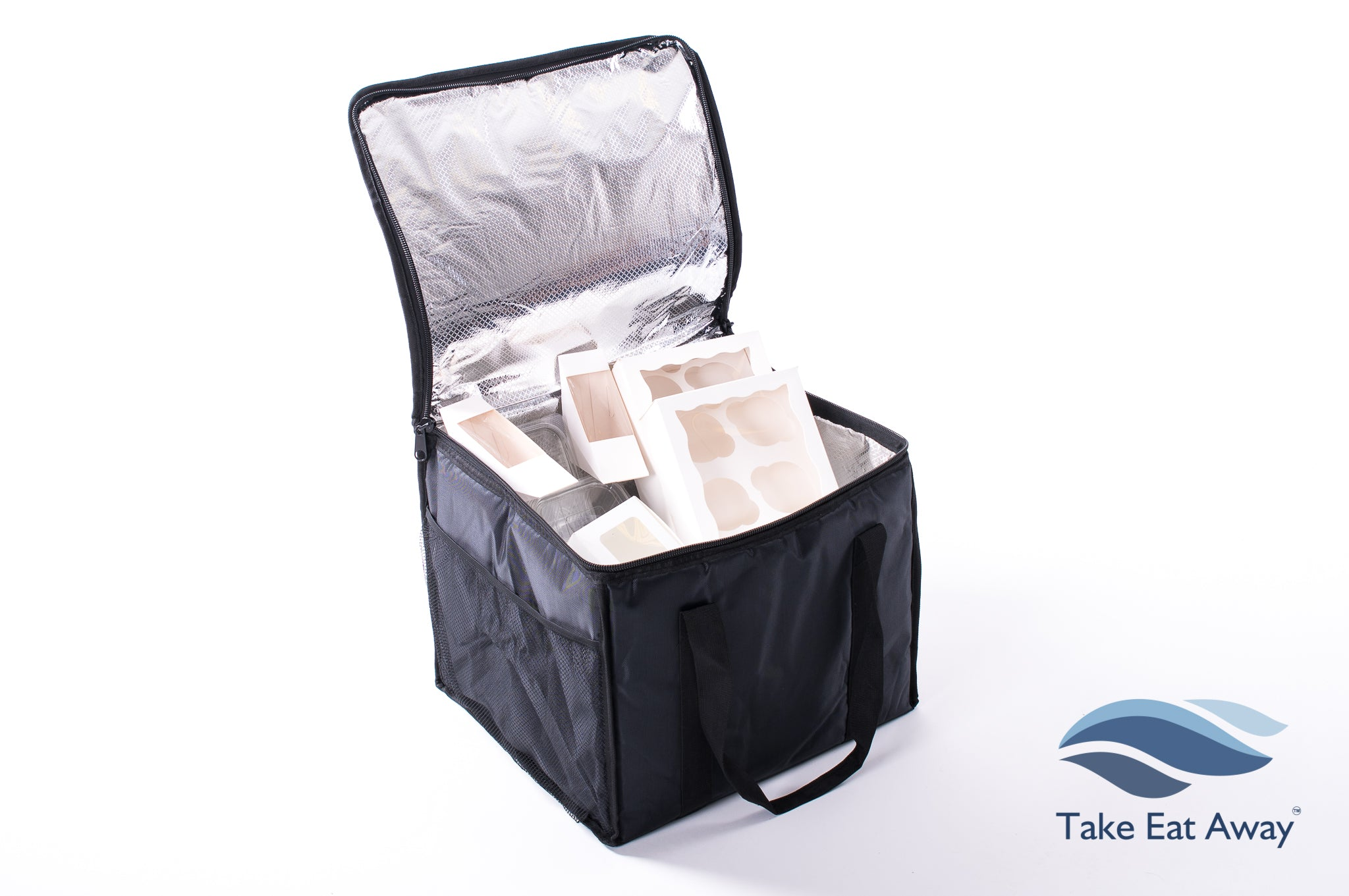Chilled Food Delivery Bag - 51 Litre Catering Insulated Cool Deliveries Bags C17