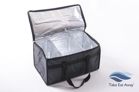 Wholesale T20 Food Delivery Extra Large Bag with Dividers-39 litres