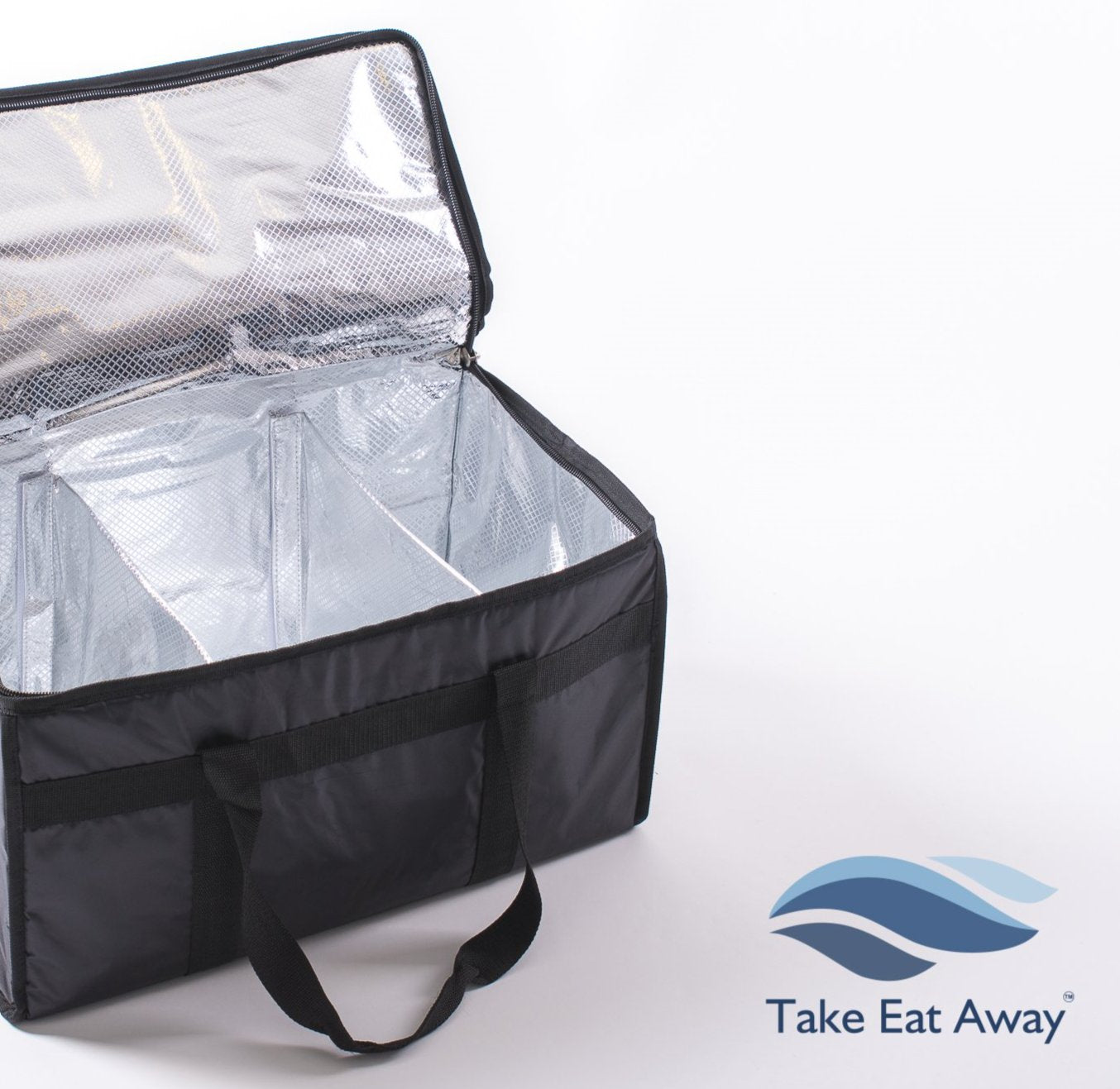 *T20 Food Delivery Extra Large Thermal Bag with Dividers-39 litres