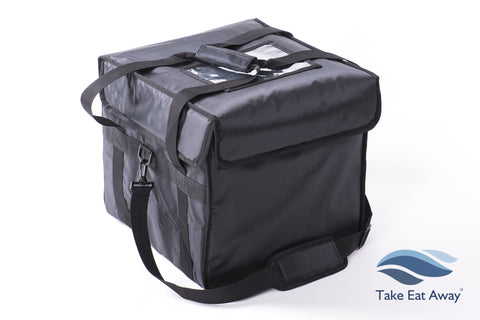Insulated Cool Delivery Bag - 44 litres Catering Deliveries Bags with Shoulder Strap C7