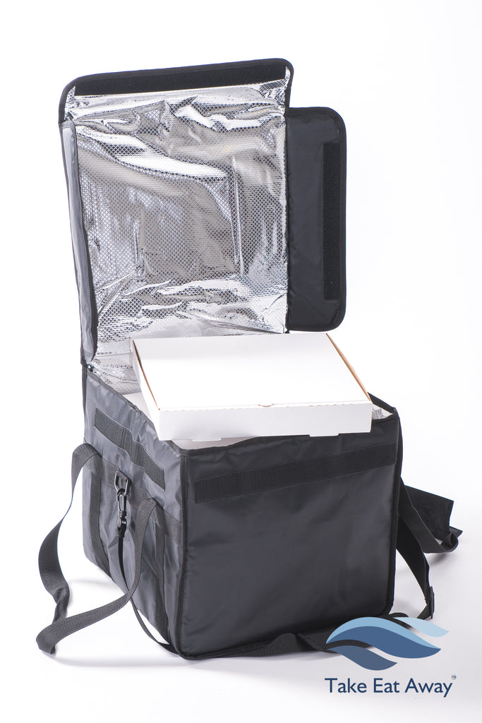 *T7 Insulated Delivery Bag with Detachable Shoulder Strap-velcro fastening