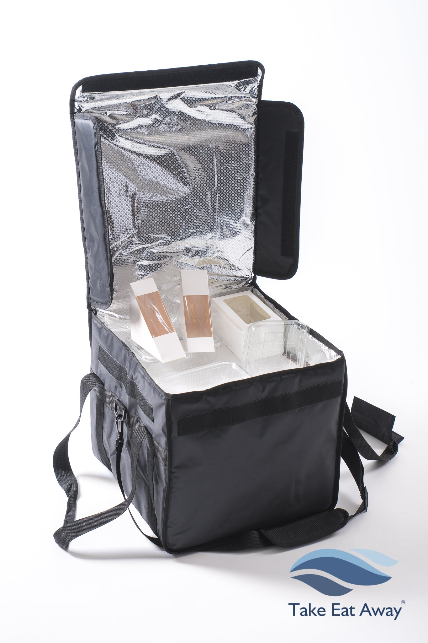 Insulated Cool Delivery Bag - 44 litres Chilled Food Catering Deliveries Bags C7