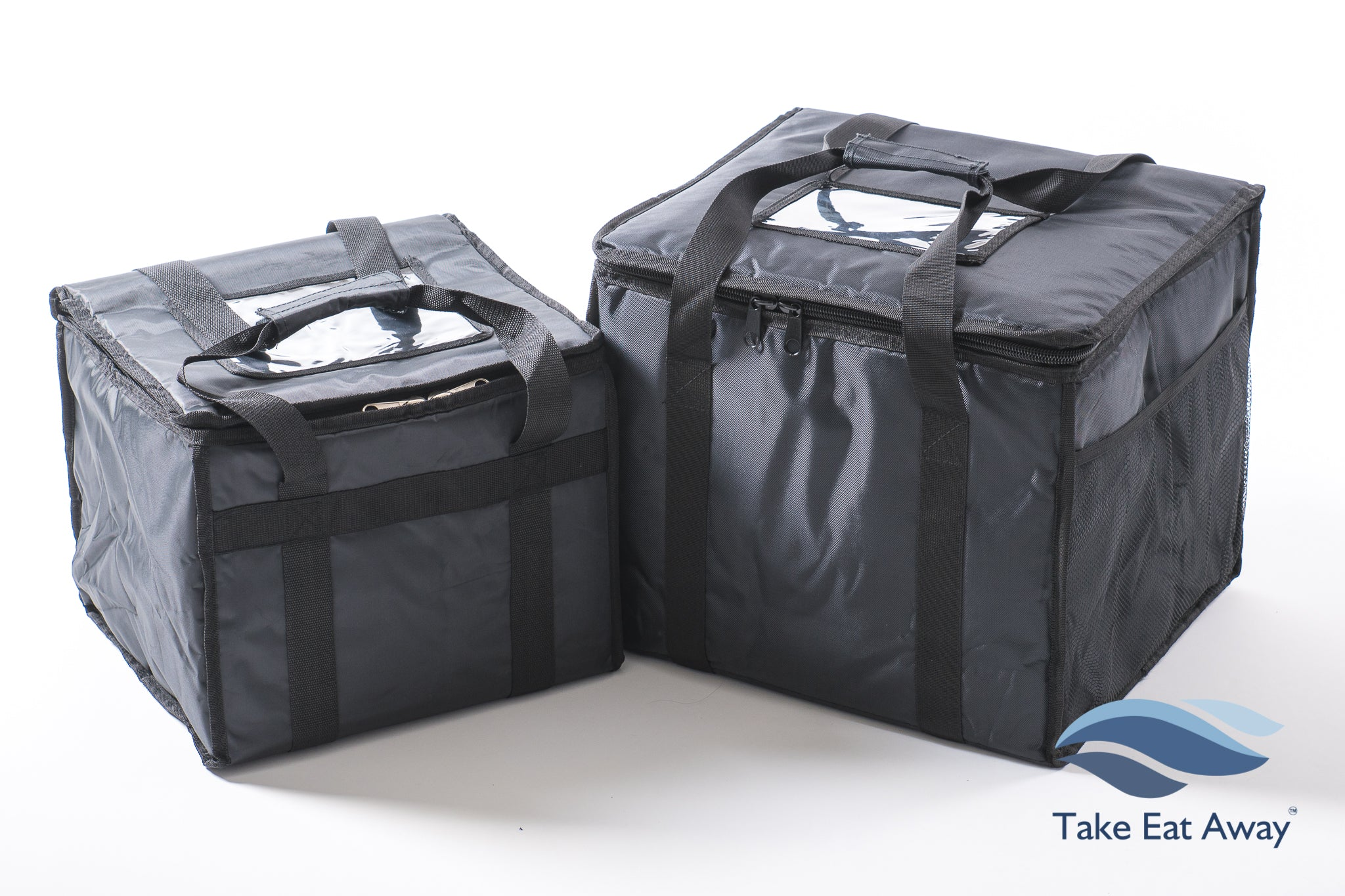 *CC5 Food Delivery Bags- 2 Bags- Insulated Hot/Cold Deliveries Bags T16/17