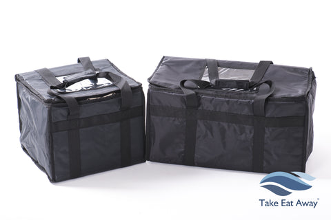 *CC4 Food Delivery Bags- 2 Bags- Insulated Hot/Cold Deliveries Bags T8/T16
