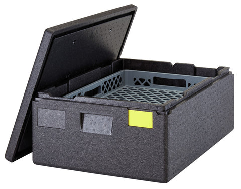 Cambro 4 hour Thermal Insulated Catering & Delivery Carrier 53litre Top Loader Carrier Crate GoBox EPP4060T200