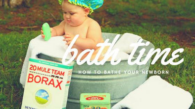 how to bathe your newborn
