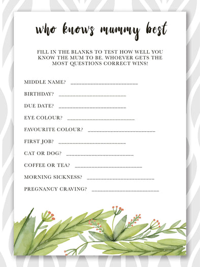 When do you have a baby shower ?