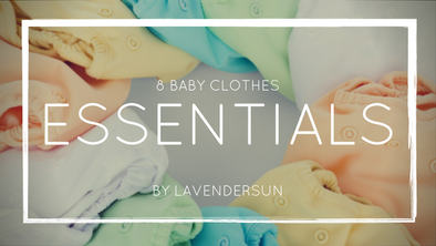 8 baby clothes essentials
