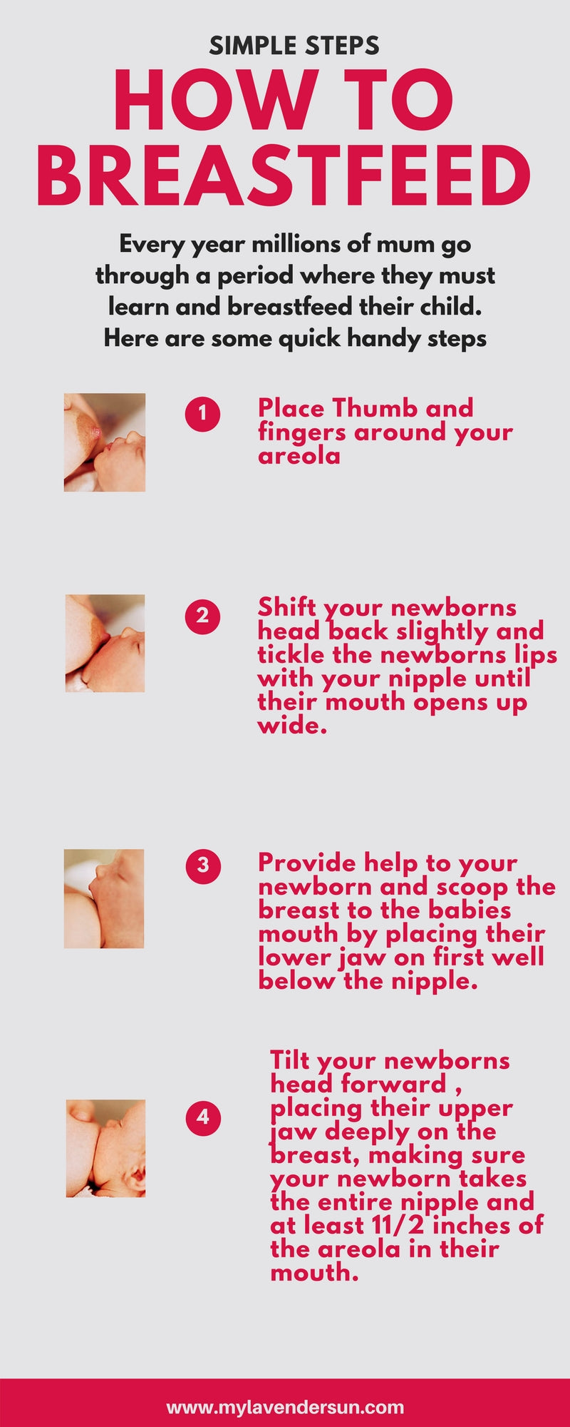How to breastfeed