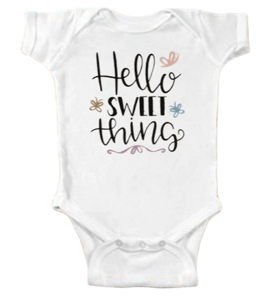 Hello Sweet Thing Onesie