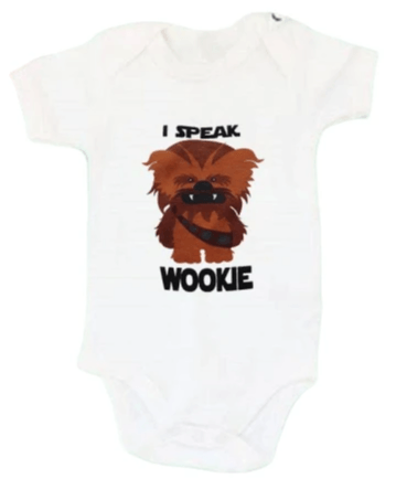 I Speak Wookje Onesie