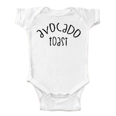 Avocado Toast Onesie