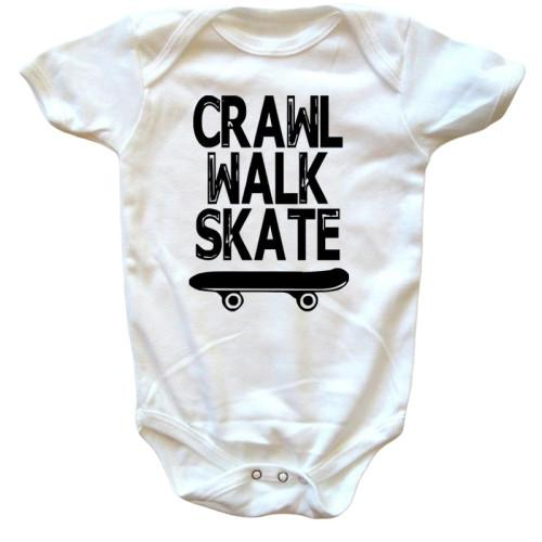 Crawl Walk Skate Onesie