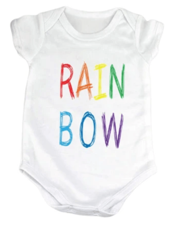 Double Rainbow Onesie