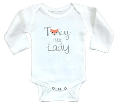 Foxy Little Lady Onesie