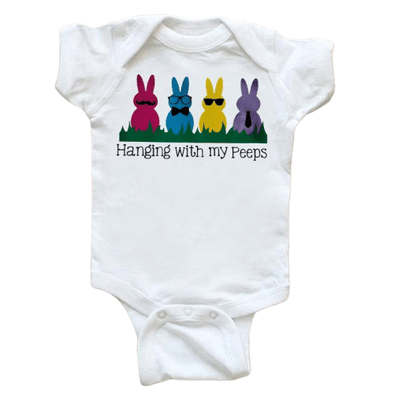 Hanging With My Pees Onesie