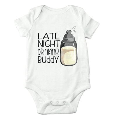 Late Night Drinking Buddy Onesie