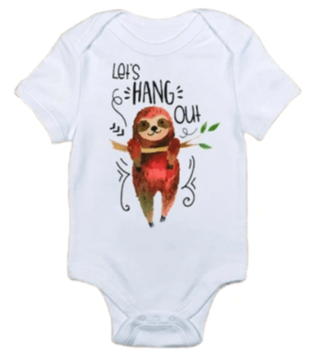 Let's Hang Out Onesie