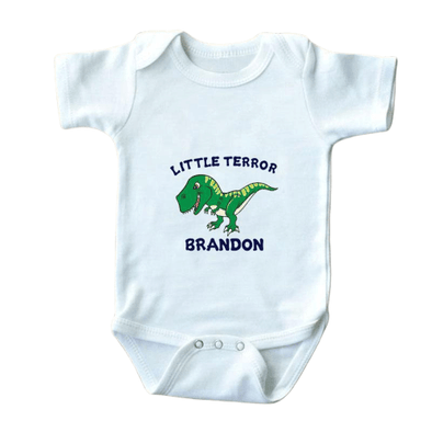 Little Terror Brandon Onesie