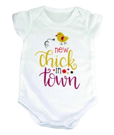 New Chick In Town Onesie