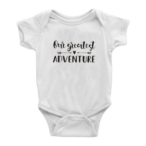 Our Greatest Adventure Onesie