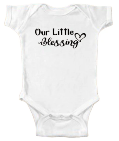 Our Little Blessing Onesie