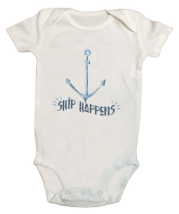 Ship Happens Onesie