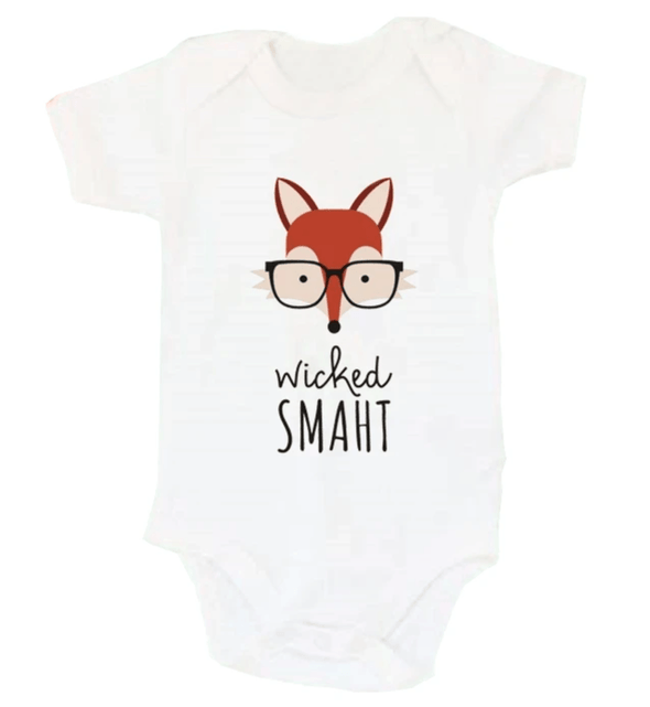 Wicked Smaht Onesie