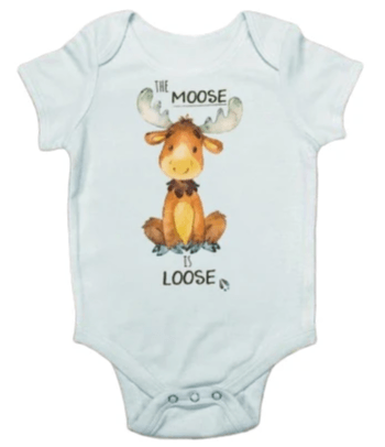 The Moose Is Loose Onesie