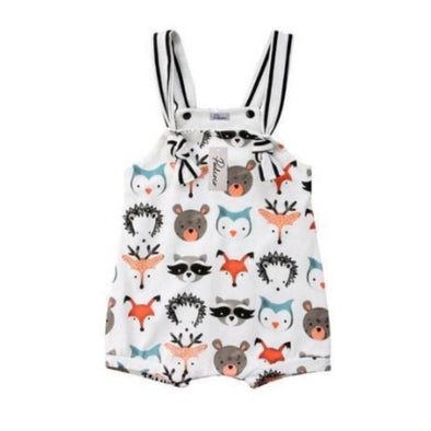 Animal Frenzy Romper