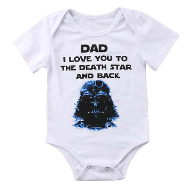 Dad I Love You To The Death Star And Back Onesie