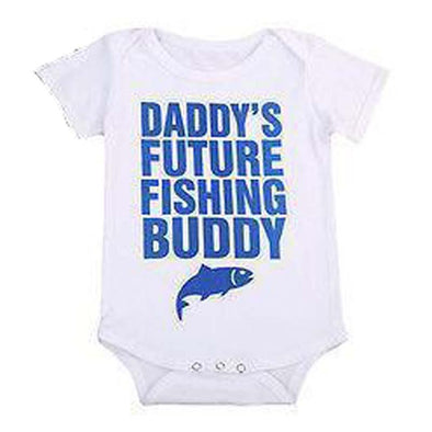 Daddy's Future Fishing Buddy Onesie