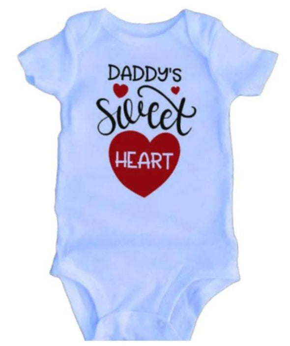 Daddy'S Sweet Heart Onesie