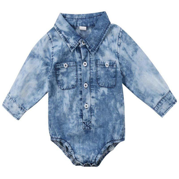 Denim Washed Onesie