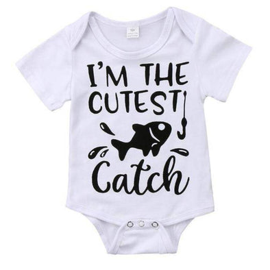 I'm The Cutest Catch Onesie