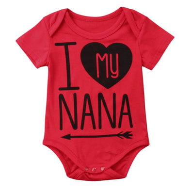 I Love My Nana Onesie