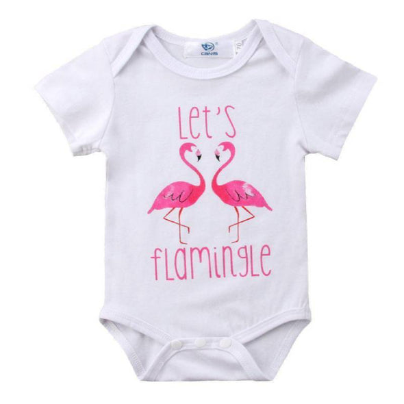 Let's Flamingle Onesie