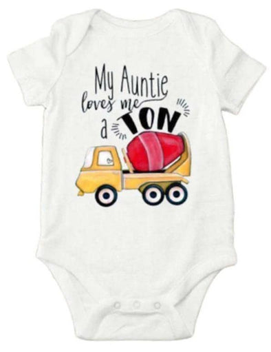 My Auntie Loved Me Aton Onesie