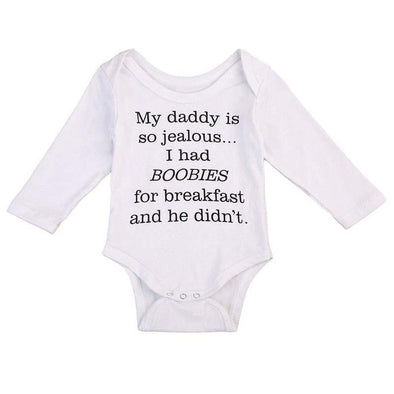 My Daddy Is So Jealous Onesie